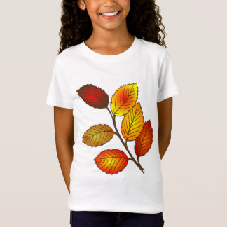 Autumn leaves illustration T-Shirt