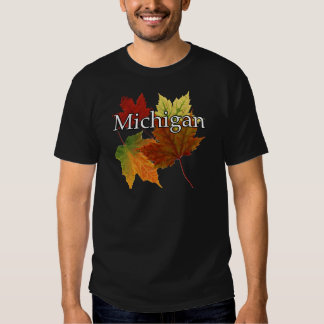 AUTUMN LEAVES IN MICHIGAN SHIRT