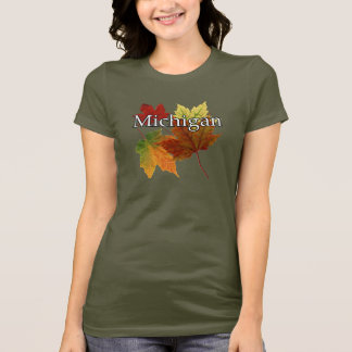AUTUMN LEAVES IN MICHIGAN T-Shirt