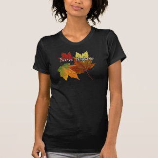 AUTUMN LEAVES IN NEW JERSEY T SHIRT