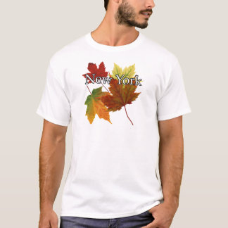 AUTUMN LEAVES IN NEW YORK T-Shirt