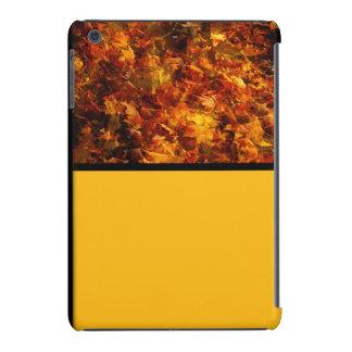 Autumn Leaves in Orange and Yellow iPad Mini Covers
