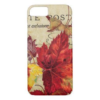 Autumn Leaves in Rich Colors iPhone 8/7 Case