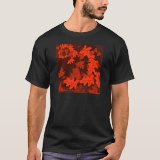 Autumn-Leaves-in-shades T-Shirt