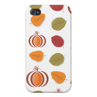 Autumn Leaves iPhone 4 Covers