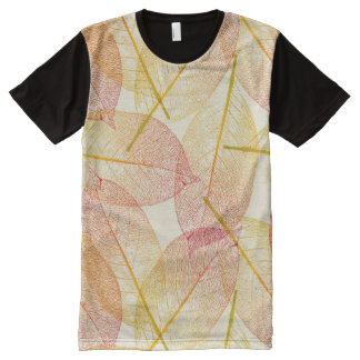 Autumn Leaves All-Over Print T-shirt