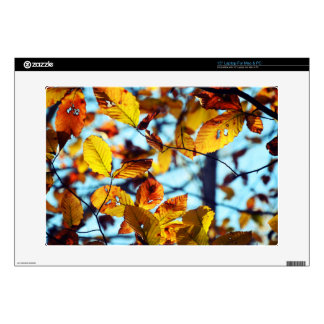 Autumn Leaves Laptop Skin For Mac & PC