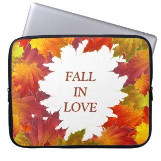 Autumn Leaves Laptop Sleeve