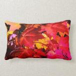 Autumn leaves lumbar pillow