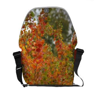 Autumn Leaves Medium Messenger Bag