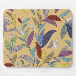 Autumn Leaves Mosaic Mousepad