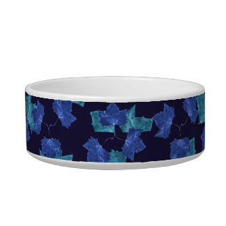 Autumn Leaves Motif Pattern Bowl