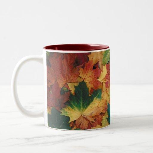 Autumn Leaves Mug Coffee Mug