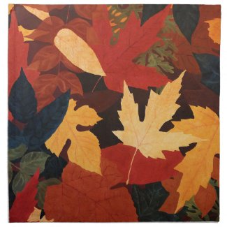 Autumn Leaves Napkin mojo_napkin