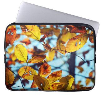 Autumn Leaves Neoprene Laptop Sleeve