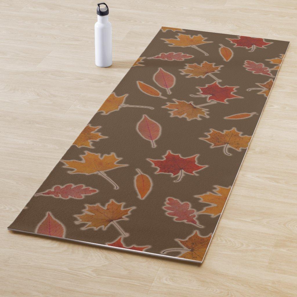 Autumn Leaves on Custom Color