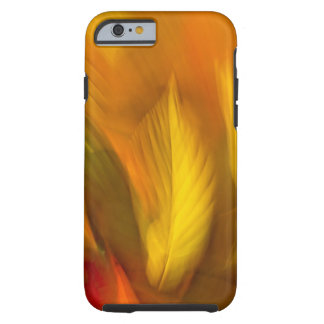 Autumn leaves on ground, close up, partial tough iPhone 6 case