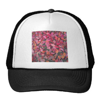 Autumn Leaves on the Ground Mesh Hats