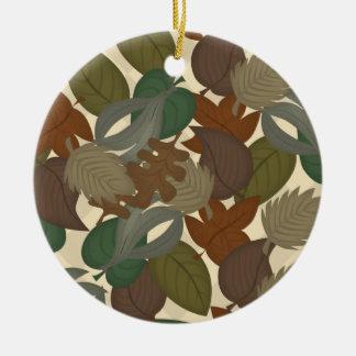 autumn leaves ornament