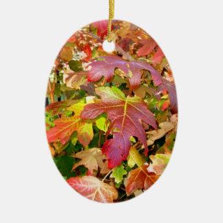'Autumn Leaves' Ornament