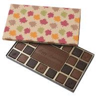 Autumn Leaves Pattern 45 Piece Box Of Chocolates