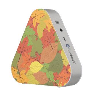 Autumn Leaves Pattern Bluetooth Speaker