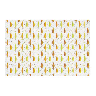 Autumn leaves Pattern Placemat