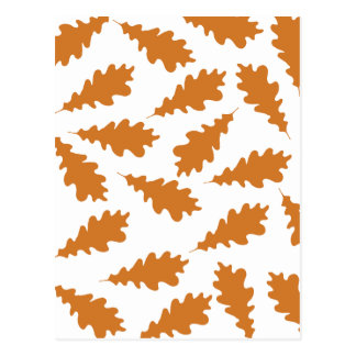Autumn Leaves Pattern. Post Cards