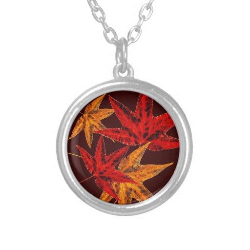Autumn Leaves Pendant