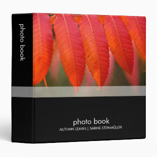 Autumn Leaves · Photo Book 3 Ring Binder