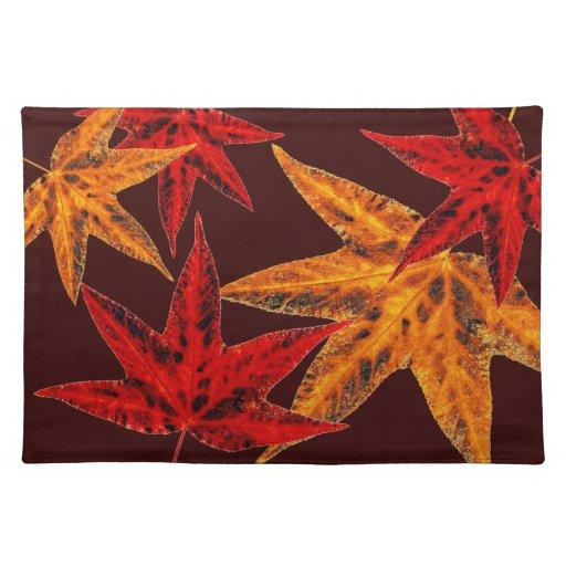 Autumn Leaves Place Mats