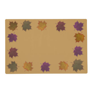 Autumn Leaves Placemat