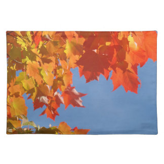 Autumn Leaves placemats custom Fall Leaves