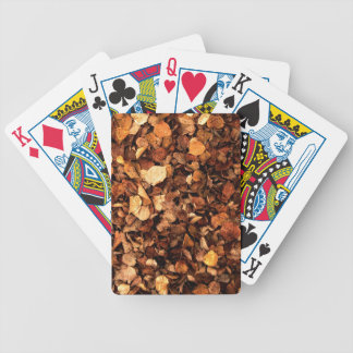 Autumn Leaves Bicycle Poker Cards