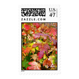 'Autumn Leaves' Postage