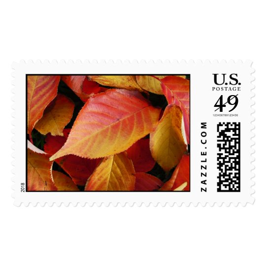 Autumn Leaves  Postage