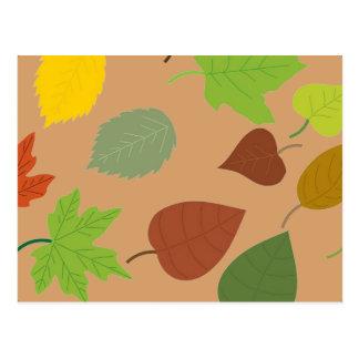Autumn Leaves Postcard