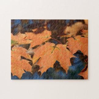 Autumn Leaves Puzzle