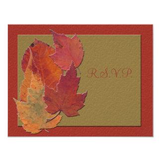 Autumn Leaves Response Card