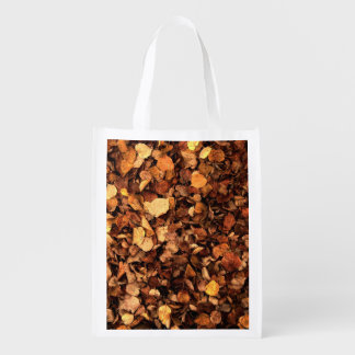 Autumn Leaves Reusable Grocery Bag