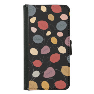 Autumn Leaves Samsung Galaxy S5 Wallet Case