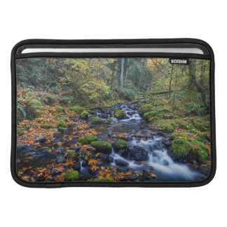 Autumn Leaves Scattered Along Gorton Creek Sleeve For MacBook Air