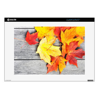 """Autumn Leaves 15"""" Laptop Decal"""