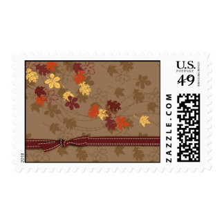 Autumn Leaves Stamp