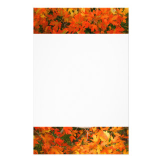 Autumn Leaves  Stationary Stationery