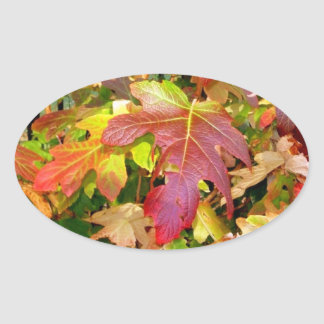 'Autumn Leaves' Stickers