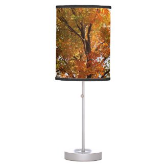 Autumn Leaves Table Lamp