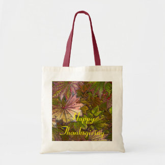 Autumn Leaves: Thanksgiving - Budget Tote