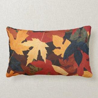 Autumn Leaves Throw Pillow mojo_throwpillow
