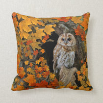 Autumn Leaves. Throw Pillow